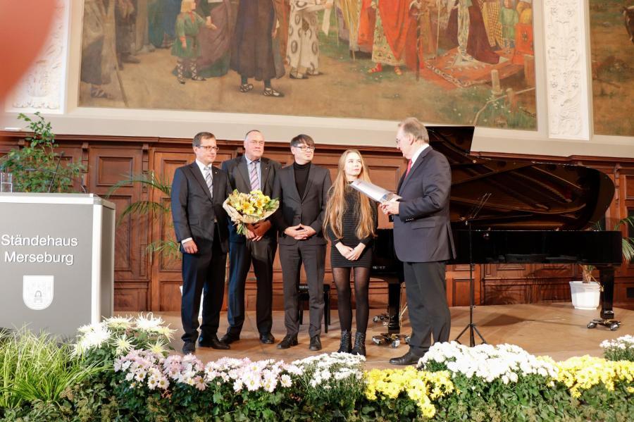 Verleihung des Walter-Bauer-Literaturstipendiums an Adina Heidenreich